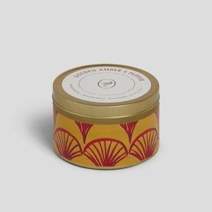NWT Opalhouse Golden Amber and Pepper Tin Candle